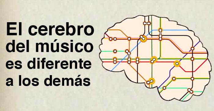 Resultado de imagen para cerebro de los músicos