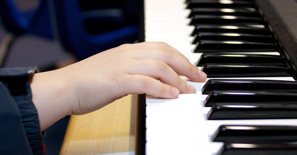 estudiante musica