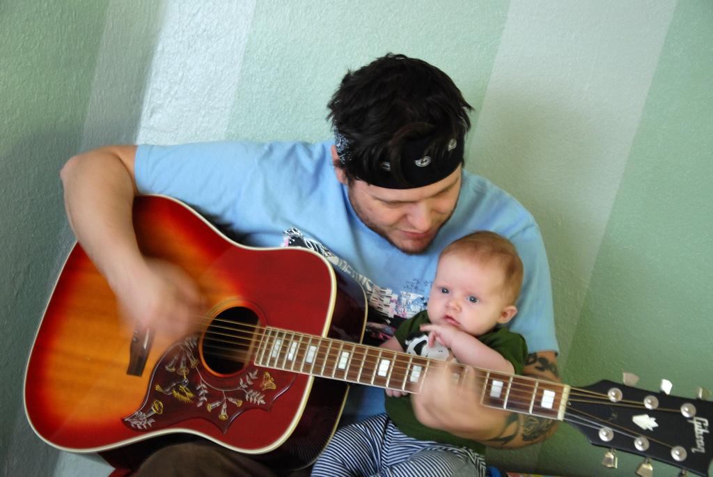 papa e hijo