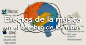 efectos de la musica en el cerebro de los niños